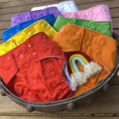 Build your Rainbow - Choose your Solid Color Diaper - Bungies Diapers