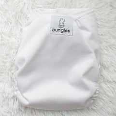 Wonderland Diaper Pack - 3 Pocket Cloth Diapers Set with 3 Hemp Insert and 3 Bamboo Cotton Inserts - Bungies Diapers
