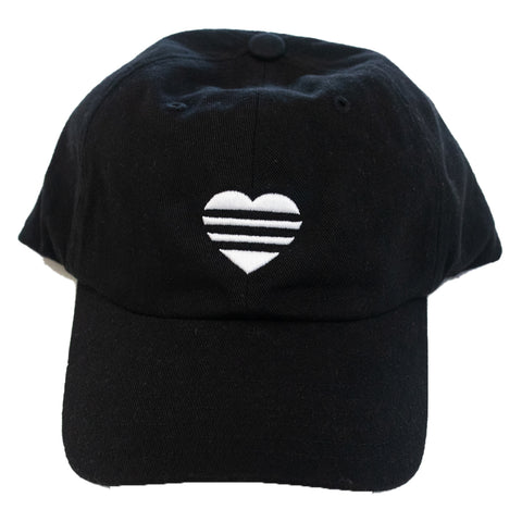 Adidas Ladies 3STRP Heart soft cap