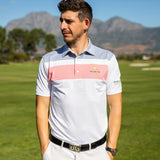 FJ Double Blocked Golf shirt
