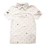 Adidas Junior Printed Polo