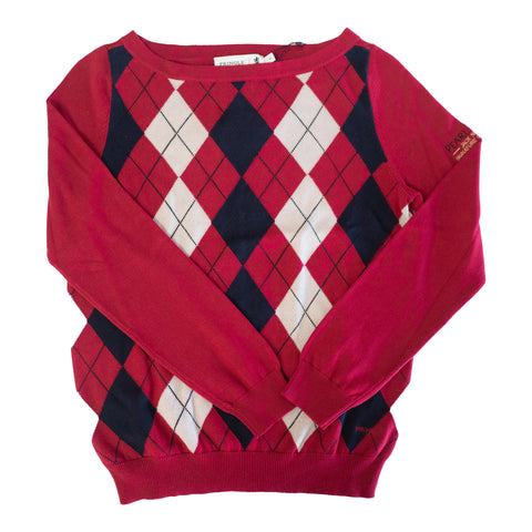 Ladies Pringle Jumper (Red)