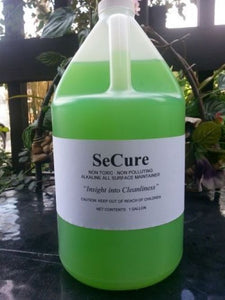 Product shot of a gallon of SeCure