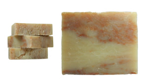 Cherry Almond (shampoo bar, vegan) One of our favorite traditional smells; tangy cherries blended with sweet almonds making for a soap you'll crave! This soap also can be replaced as a beautiful shampoo bar. - Shameless Soap Co™