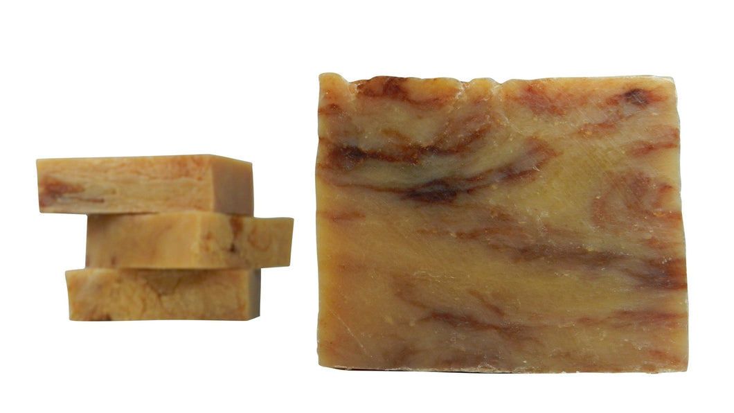 Citrus Cedar Sage (all natural, 84% organic, vegan)This essential oil blend will have your mind racing through fields of lemongrass and oranges with sweet petitgrain, cedar, and sage in the passing wind. Made with organic vegetable-based oils, this natural handmade soap contains 85% organic ingredients  - Shameless Soap Co™