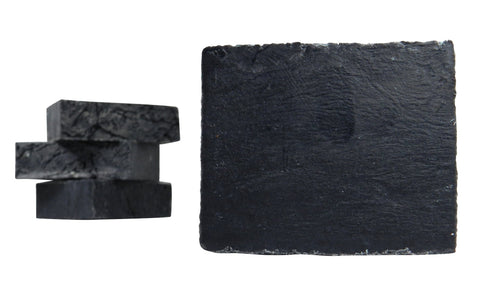 Peppermint Tea Tree w/ Activated Charcoal (all natural, 83% Organic, vegan) - Shameless Soap Co™