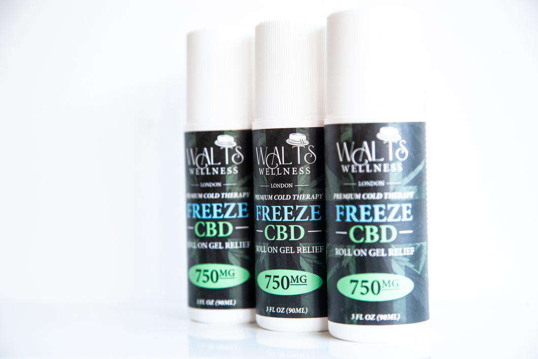 CBD Freeze Roll On Gel in London, England