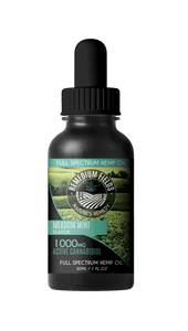Remedium Fields | Full-Spectrum Hemp Oil | Mint Flavour