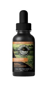 Remedium Fields | Full-Spectrum Hemp CBD Oil | Orange Grove Flavour