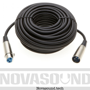 2 50 Feet XLR Cable (Free Shipping) - Nova Sound