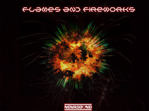 Flames and Fireworks - Fire Sound FX