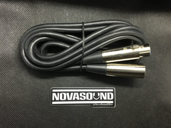 10 Foot XLR Cable - Nova Sound