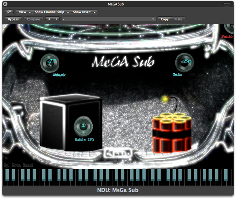 Nova Drum Unit: MeGA Sub