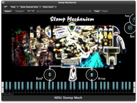 Nova Drum Unit: Stomp Mechanism