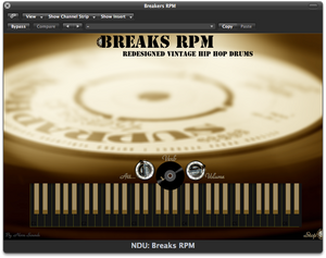 Nova Drum Unit: Breaks RPM