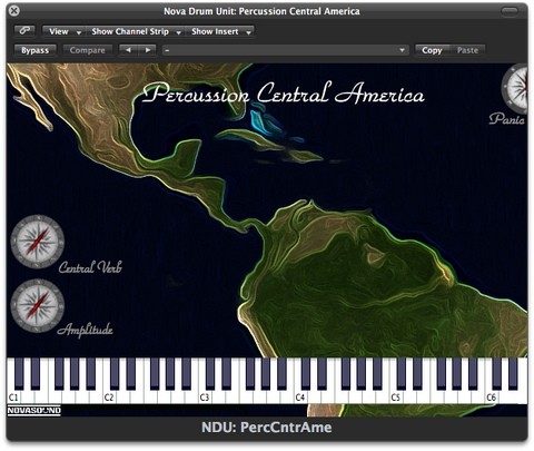 Nova Drum Unit: Percussion Central America