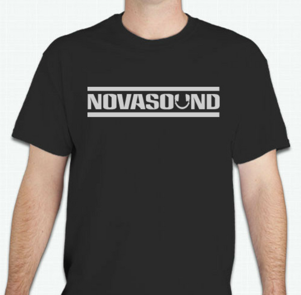 Nova Sound T-Shirt - Black and Gray (Uhuru Package)