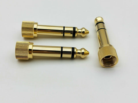Screw On Stereo Audio Headphone Adaptor - 1/4 (6.3mm) to 1/8 (3.5mm) - Nova Sound