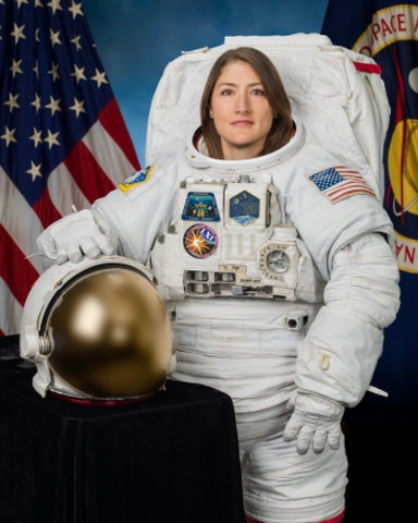 Christina Koch was part of the first all-female space walk - Fifth & Root