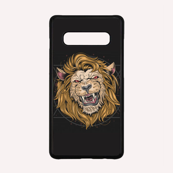 A Color Sketch Of A Fierce Lion iPhone X CaseTridicase