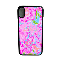 LILLY PULITZER STAR iPhone 4 4S 5 5S SE 5C 6 6S 7 8 Plus X XS Max XR Phone Case