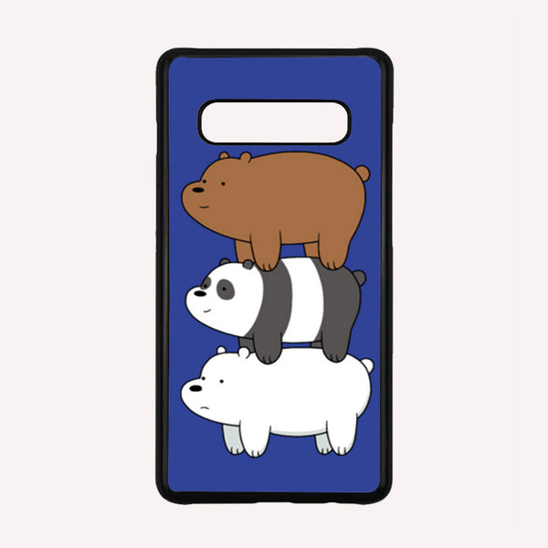 WE BARE BEARS iPhone 55SSE 5C 66S 7 8 Plus XXS Max XR 3D CaseCover