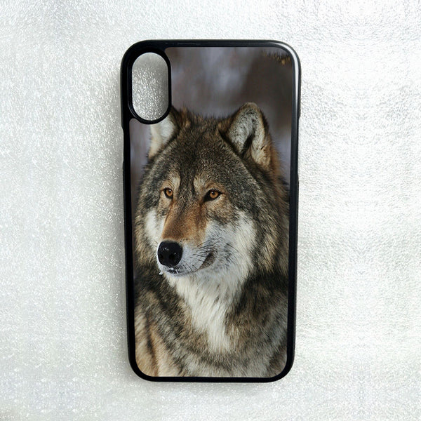 WILD WOLF ANIMAL PHONE CASE FOR SAMSUNG NOTE & GALAXY S3 S4 S5 S6 S7 S8 S9 S10 E