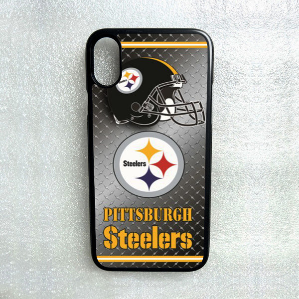 Pittsburgh Steelers protective TPU case for iphone X XS Max XR 5 6 7 8 plus