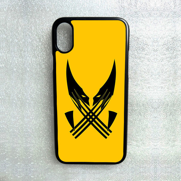 WOLVERINE MARVEL PHONE CASE FOR SAMSUNG NOTE & GALAXY S4 S5 S6 S7 S8 S9 S10 Plus dua