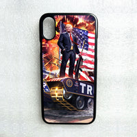 DONALD TRUMP MAKE AMERICA GREAT PHONE CASE FOR IPHONE XS MAX X 8 7 6S 6 PLUS 5C