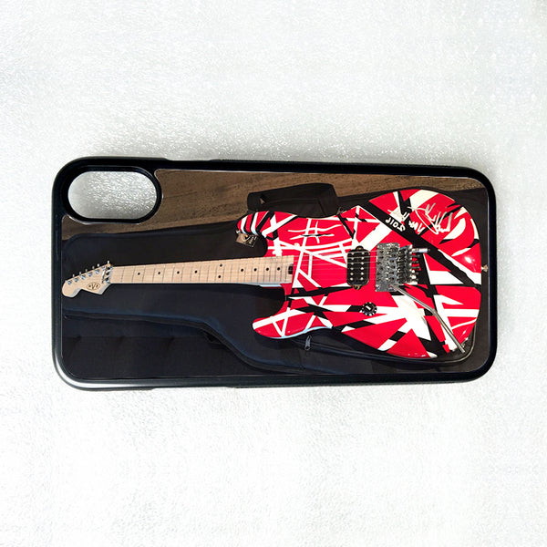 EDDIE VAN HALEN GUITAR iPhone 4 4S 5 5S 5C 6 6S 7 8 Plus X XS Max XR Phone Case