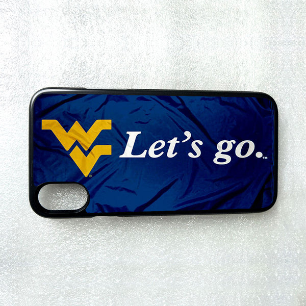 West Virginia WVU Lets Go Phone Case for iPhone Samsung LG Google Pixel HTC etc