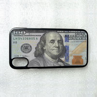 $100 DOLLAR BILL MONEY PHONE CASE COVER FOR IPHONE XS MAX X 8 7 6S 6 PLUS 5 5C 4