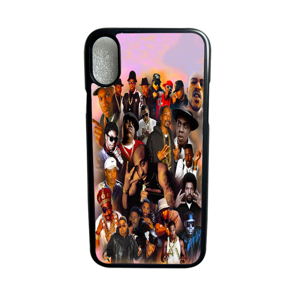 90s Rapper Collage Eminem 2Pac Biggie Jay-Z Design Phone Case for iPhone etc.