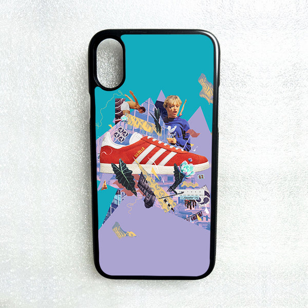 ADIDAS COLLAGE IPHONE 55SSE 66S 7 8 PLUS XXS MAX XR CLEAR CASE TRANSPARENT