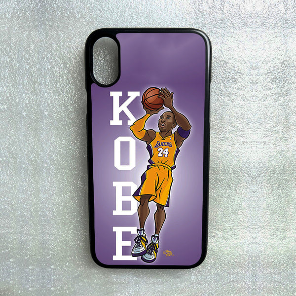 Kobe Bryant Lakers Animated Clear iPhone XRXSX876s6 Phone Case Cover