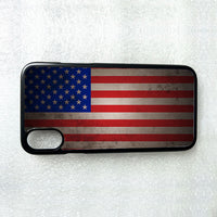 American Flag USA iPhone 4 4S 5 5S 5c SE 6 6S 7 8 X XS Max XR Plus Case Cover n1