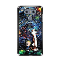LG G5 Case LG G4 G3 Case Calvin and Hobbes Art Starry Night iPhone X Case
