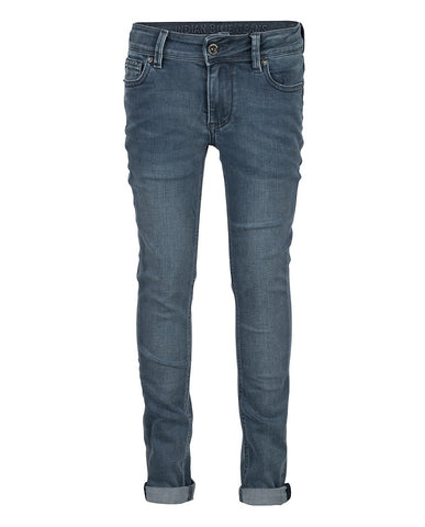 Indiana Blue Jeans - BLUE GREY RYAN SKINNY FIT