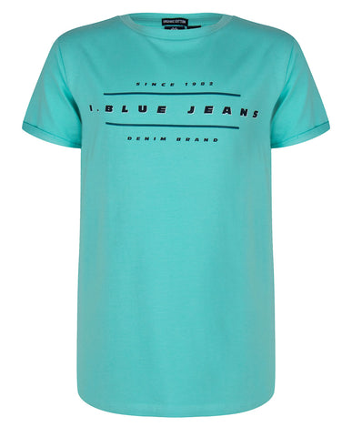 Indian Blue Jeans - T-SHIRT SS I.BLUE ORGANIC