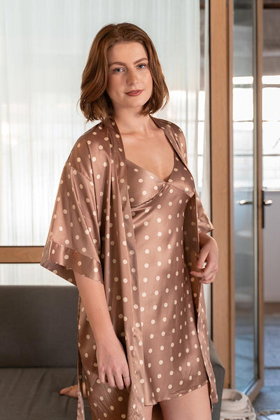 Kaylee Robe and Chemise Set-Malaya Intimates-small-Malaya