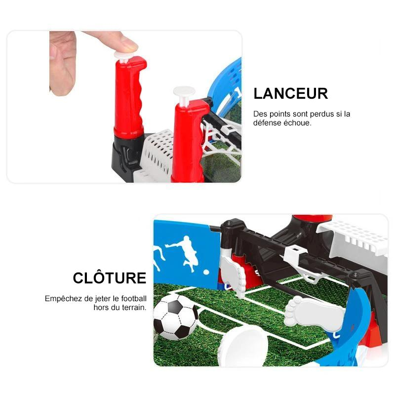 Mini Jouet de Sport de Football de Table