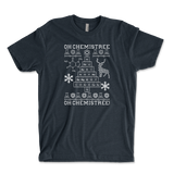 Oh Chemistree, Oh Chemistree! Ugly Christmas Chemistry Unisex Ringspun T-Shirt