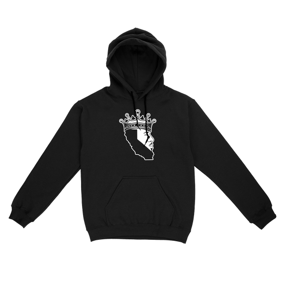 King Of Los Angeles, California Beard Unisex Pullover Hoodie