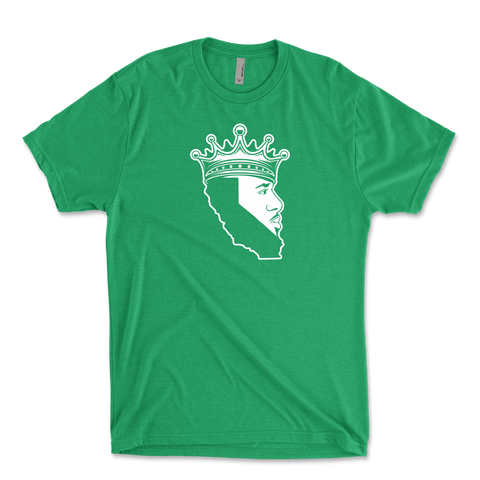 King Of Los Angeles, California Beard Mens Triblend T-Shirt