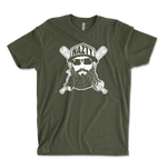 Fear The Nazty Beard Baseball Unisex Ringspun T-Shirt