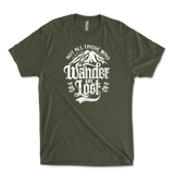 Not All Those Who Wander Are Lost Mens Triblend T-Shirt