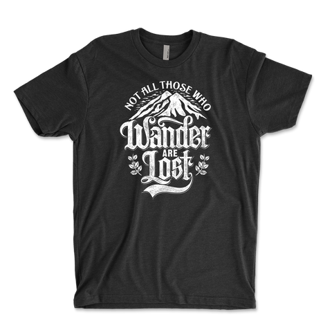 Not All Those Who Wander Are Lost Youth Ringspun T-Shirt