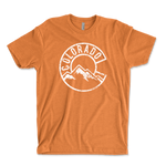 Vintage Colorado Mountains Unisex Ringspun T-Shirt