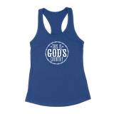 This Is God's Country Womens Racerback Tank Top